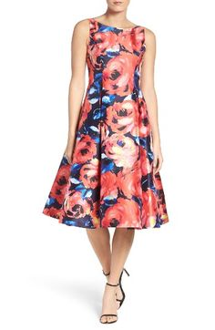 Free shipping and returns on Adrianna Papell Floral Dress (Regular & Petite) at Nordstrom.com. Painterly floral patterns flourish on a sophisticated cocktail dress with a full, flared skirt.