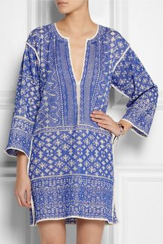 Étoile Isabel Marant   Bloom woven cotton-blend mini dress