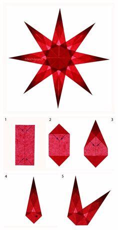 Learn how to make these 10 models of sun catchers......Aprende a hacer estos 10 tipos de estrellas para decorar tus ventanas..... ...