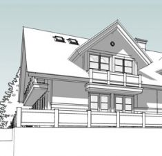 Family house, architecture by Artlandia