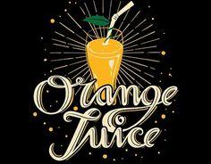 "Check out new work on my @Behance portfolio: ""Orange Juice""…"