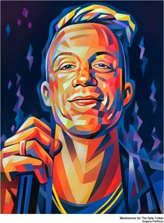 Colorful Portrait Illustrations by Evgeny Parfenov | Abduzeedo