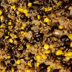 Quarantine Cooking Quinoa and Black Beans Recipes Black Bean Recipes, Beans Recipes, Shrimp Recipes Easy, Canned Black Beans, Frozen Corn, Garlic Shrimp, Saute Onions, Coriander Seeds, Cayenne Peppers