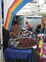 Cherries: Trout Lake Farmer's Market