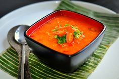 Mauritian Red Lentil Soup
