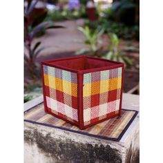 Gleamberry | Brown Mat Handcrafted Basket-9""