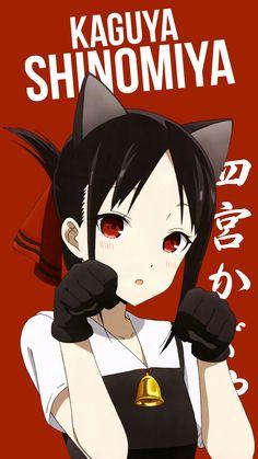 kaguya shinomiya - Kaguya Sama Love is War Chica Anime Manga, Anime Neko, Kawaii Anime Girl, Anime Art Girl, Anime Naruto, Cute Anime Pics, I Love Anime, Anime Character Names, Tamako Love Story