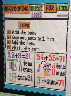 Adding Regrouping Anchor Chart - Jessup