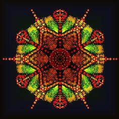grande bonté ? grande bondade? great goodness? Mandala de Pierre Vermersch Digital Drawings