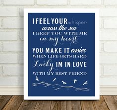 Lucky  Song Lyric Print Jason Mraz and Colbie Caillat Nautical Wedding Gift for Couple Our Song Boyfriend Gift Girlfriend Gift Beach Wedding by DefineDesign11 on Etsy https://www.etsy.com/listing/500982873/lucky-song-lyric-print-jason-mraz-and