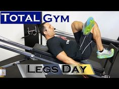 This Total Trainer & Pilates Reformer class is 1 of 3 programs in a weekly series to train your whole body. Each workout is long: Back Biceps Delts. Gym Leg Day, Total Gym Workouts, Strength And Conditioning Workouts, Daily Exercise Routines, Back And Biceps, Pilates Reformer, Legs Day, Excercise, Abs