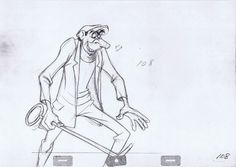 One Hundred and One Dalmatians - Jasper Badun. Animated by John Lounsbery.