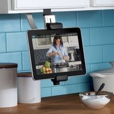Is like to have something like this so I can keep my recipes pulled up...easy access that's all I need