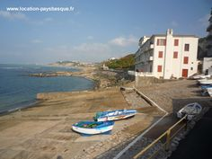 Cale du petit port de Guéthary