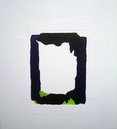 Sean Bailey, Untitled (2012), synthetic polymer paint and collage on ply board