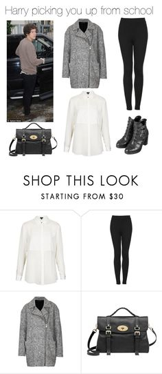 """Harry picking you up from school"" by outfits-with-one-direction ❤ liked on Polyvore featuring Topshop and Mulberry"