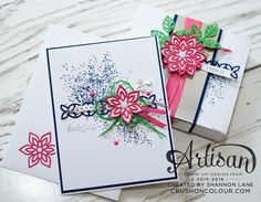 Need a little extra oomph?  Create a coordinating box to go with a card!  ~Shannon