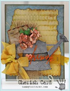 Tammy Tutterow Cherish Card   www.tammytutterow.com