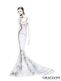 GRACIANO fashion illustration: Jason Wu S/S 2014 #NYFW