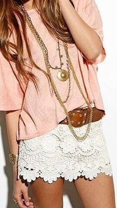 Beachy boho chic summer fashion trends. For the BEST summer fashion trends in jewelry, clothing, & accessories FOLLOW http://www.pinterest.com/happygolicky/summer-style-jewelry-clothing-swimsuits-accessorie/ now