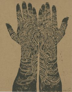 Hand Woodblock by KAITZYLSTRA