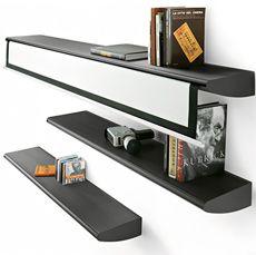 Bookshelf with Hidden Home Theatre