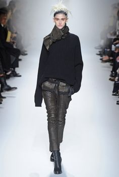 Haider using lots of texture #fall #fashion #style #inspo