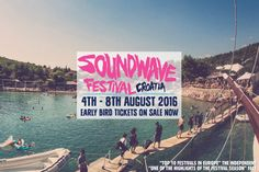 Soundwave Croatia 2016 - Soundwave Croatia, one of Europe's most friendly and intimate festivals returns for it's 7th year and announces the addition of a developed live art and film programme to its eclectic musical offering.