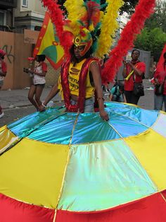 Amazing outfits at Notting Hill Carnival