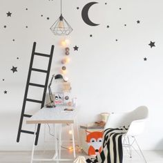WALLSTICKER OVER THE CRADLE LADDER TO STARS :) <3