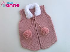Pompom Baby Vest Free Pattern For those looking for a difference in baby vest patterns, we offer a plush model with a collar detail which we think is very elegant. It is a vest tha.