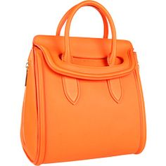 Alexander McQueen Heroine Medium Orange