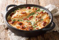 Cooked Chicken Recipes, Italian Chicken Recipes, Bacon Recipes, Quick Recipes, Crockpot Recipes, Cooking Recipes, Savoury Recipes, Free Recipes, Cooking Cream
