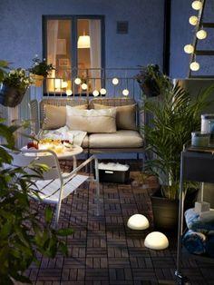 comment bien decorer la terrasse avec des plantes vertes