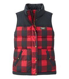 Women's Mountain Classic Down Vest, Print   Vests at L.L.Bean