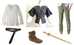Arya Stark costume ideas