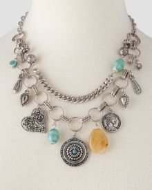 Boho Swag Necklace with Charms, Get awesome discounts up to Off at Stein Mart using Mother's Day Promo Codes. Mother's Day Special Gifts, Pearl Necklace, Beaded Necklace, Fashion Necklace, Charmed, Pearls, Boho, Womens Fashion, Swag