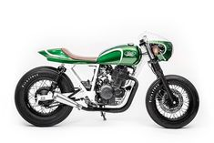 New from the Wrench Kings: The first Mash Motors custom we've seen, built for the company's Benelux distributor.