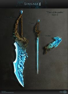 Bow Lineage 2 by Urchina on deviantART You are in the right place about Knives sketch Here we offer you the most beautiful pictures about the Knives chau you are looking for. When you examine the Bow Lineage 2 by Urchina on deviantART part of the[. Ninja Weapons, Anime Weapons, Sci Fi Weapons, Weapon Concept Art, Swords And Daggers, Knives And Swords, Fantasy Sword, Fantasy Art, Fantasy Dagger