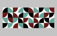 www.lurca.com.br/ // Lurca Azulejos - Coleção Modelo Kit Quadrante 2 // Lurca Tiles - Collection Kit Quadrante 2 Model #azulejos #azulejosdecorados #revestimentos #arquitetura #interiores #decor #design #sala #reforma #decoracao #geometria #casa #ceramica #architecture #decoration #decorate #style #home #homedecor #tiles #ceramictiles #homemade