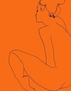 Orange. . .