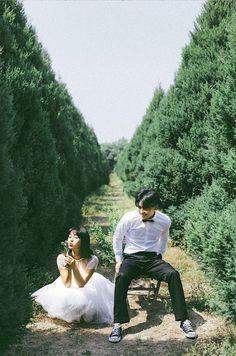 Korean Bride, Couple Photography, Wedding Photography, Engagement Photography, Couple Posing, Couple Photos, Evening Dresses For Weddings, Pre Wedding Photoshoot, Ulzzang Couple