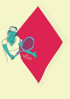 Summer Olympic Sports : Tennis by DimitraTzanos, via Flickr