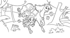 Beautiful Nella The Princess Knight And Trinket Coloring Sheet. See other coloring sheets collection for kids and toddler in our site. Nick Jr Coloring Pages, Forest Coloring Pages, Castle Coloring Page, Princess Coloring Pages, Free Coloring Sheets, Alphabet Coloring Pages, Cartoon Coloring Pages, Coloring Books, Ariel Color