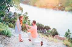 This sunset proposal is totally flawless. Boyfriends, take notes!