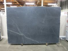 Black Soapstone Honed Block #012200