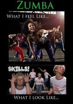 ZUMBA! This is exactly what I'm afraid of!!
