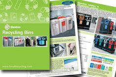 View and download our latest internal / external recycling bin brochure. #GlasdonUK #Recycling #InternalRecyclingBins #ExternalRecyclingBins #Containers #BinHousing #Recycle  #RecyclingBins
