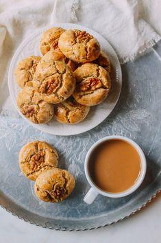 Chinese Walnut Cookies, by thewoksoflife.com