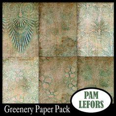Scrapbooking TammyTags -- TT - Designer - Pam Lefors, TT- Item - Paper